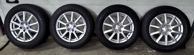 Продам зимние шины с дисками 215/60 R16 на VW, AUDI. SKODA, VAG