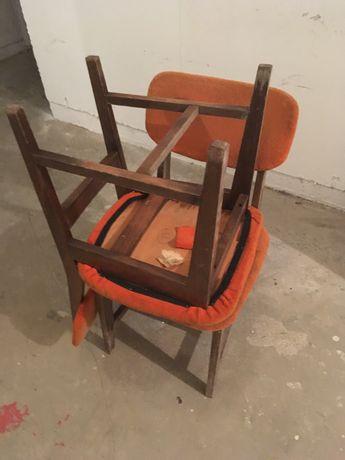 Krzesla PRL do renowacji