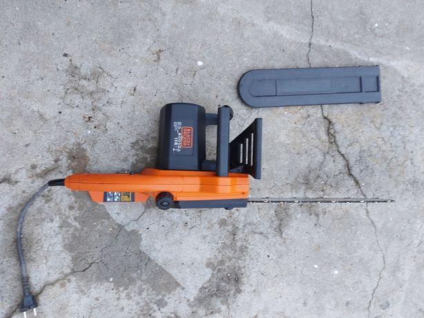 Motoserra eléctrica black decker como nova