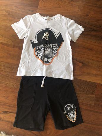 Продам летний костюм :футболка и шорты H&M