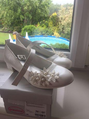 Buty komunijne dla dziewczynki Deichman roz.35