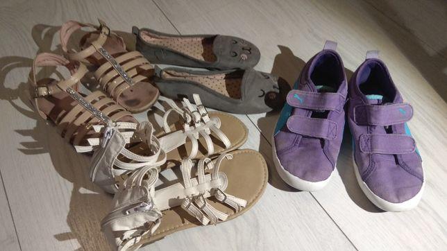 Sandały, półbuty r. 31, 32