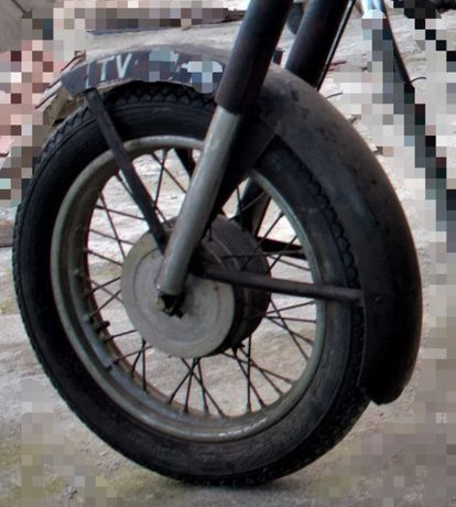 Jawa 250 cc banco e guarda lamas