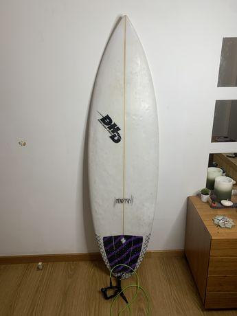 Prancha de surf DHD 6.0, boa flutuação