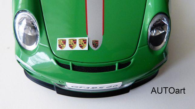 1:18 Porsche logo - kalka, naklejka