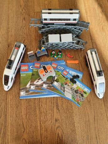 Klocki Lego City - Superszybki Pociąg Pasażerski 60051