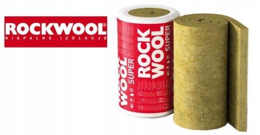 Rockwool Toprock Super 100mm, 150mm , 200mm,wełna skalna Lambda 035