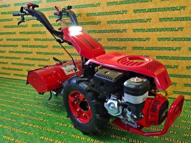 Motocultivador com Motor Loncin 15 Cv Gasolina + Fresa 65cm - NOVOS