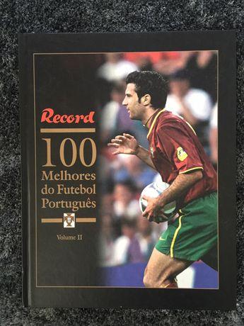 Livro Record 100 melhores do Futebol Português Vol. 2