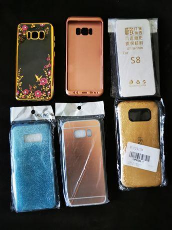 Lote de 6 Capas para Samsung S8