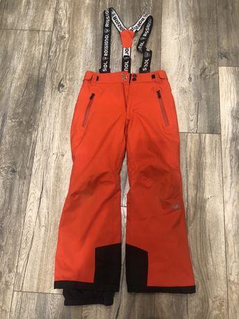 Лыжные штаны на регулируемых бретелях фирмы Rossignol