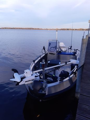 Łódka łódź aluminiowa