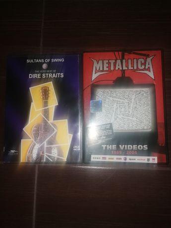 Metallica i Dire Straits dvd