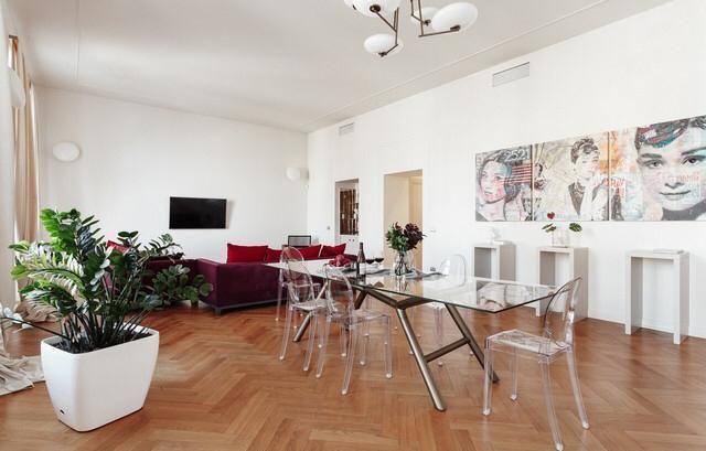 Стильная дизайнерская 4-х комн квартира ул Греческая