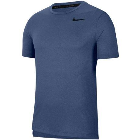 Koszulka męska Nike Top SS Hpr Dry niebieska CJ4611-różne rozmiary