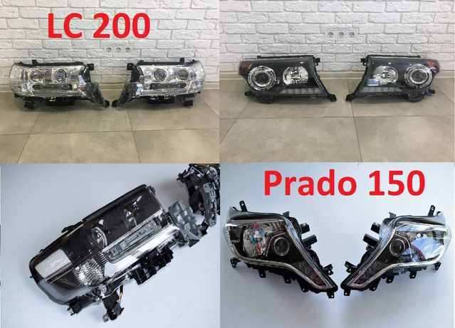 Фара Toyota Land Cruiser 200 Prado 150 тойота крузер прадо фары новые!