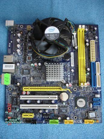4-ядерный комплект Foxconn PT8907MB + Intel Q6600 4*2,4 Ghz