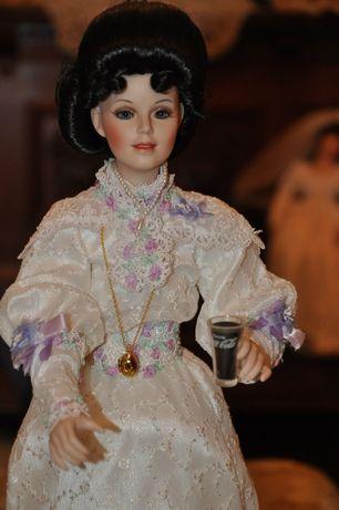 lalka porcelanowa Emma Coca-Cola Franklin Mint