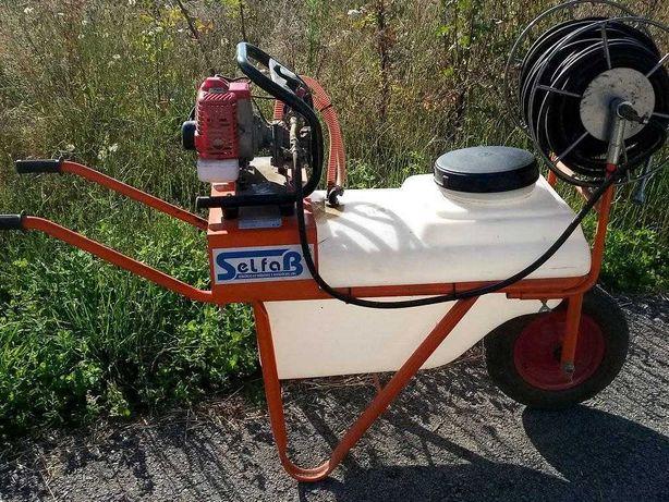 Carro pulverizador de uma roda como novo