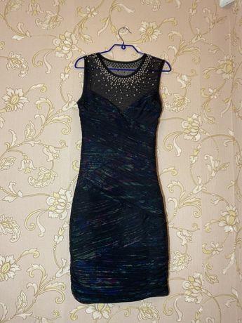 Платье коктельное на День рождение корпоратив Новый год 44 S 36