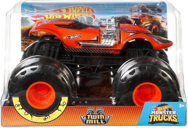 MONTER TRUCK Hot Wheels Twin Mill Metalowy 1:24