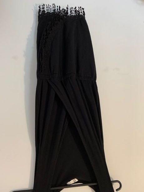 Czarna sukienka Cubus