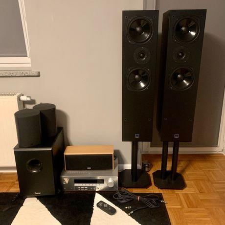 Zestaw audio kina domowego 5.1 Yamaha Dali Magnat Jamo Heco B-Tech