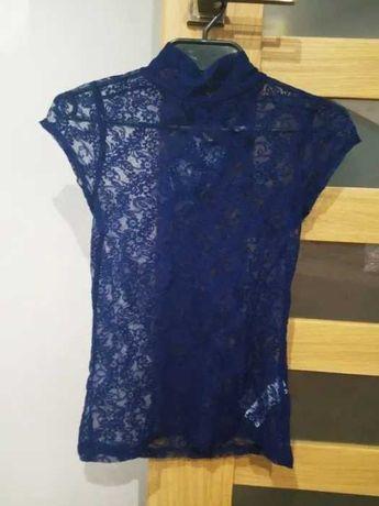 Bluzka koronkowa firmy Zara.Pasuje na rozm od XS do m