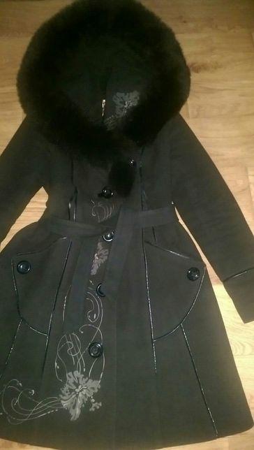 Зимнее пальто куртка кашемировое