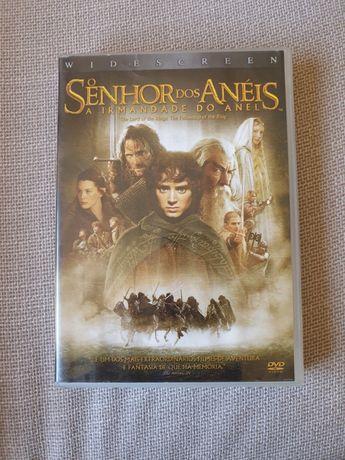 DVD O Senhor dos Anéis A Irmandade do Anel