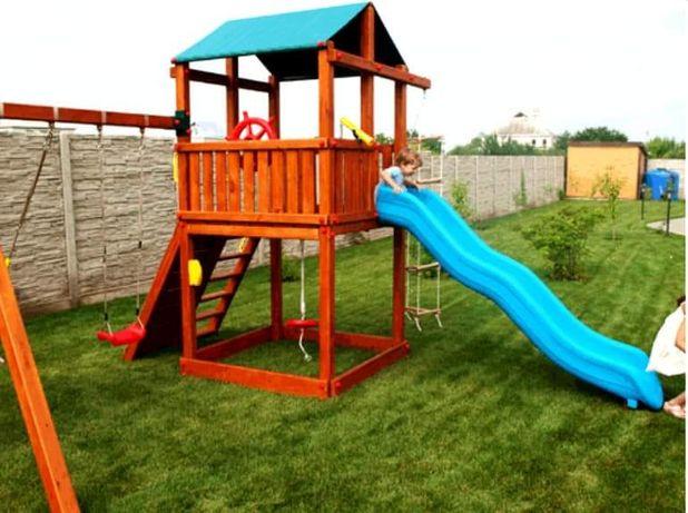 Детские деревянные игровые площадки!