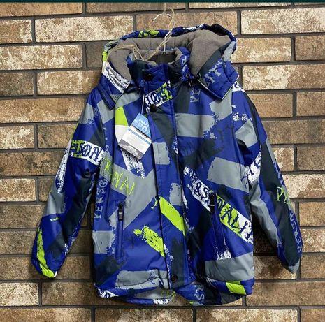 Курточка зимняя от 98-128 см