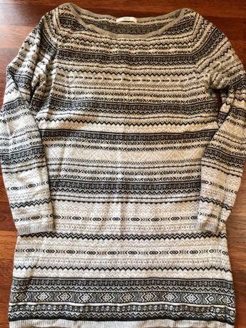 Тёплый удлиненный свитер Marks&Spencer