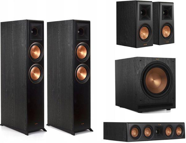 Kino 5.1 Klipsch RP-6000F/RP-404C/RP-500M/+120SW 2 Kolory. Odsłuchaj!