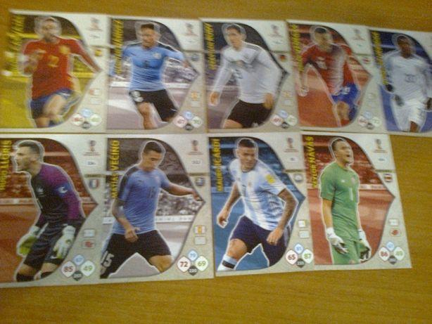 karty piłkarskie fifa world cup russia 2018