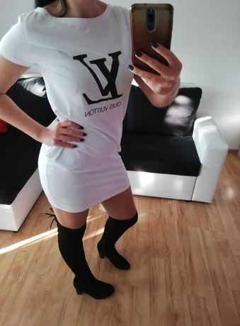 Louis Vuitton sukienka t-shirtowa Nowa! Rozmiar S