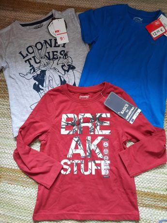 Lote T-shirts NOVAS 3-4 anos