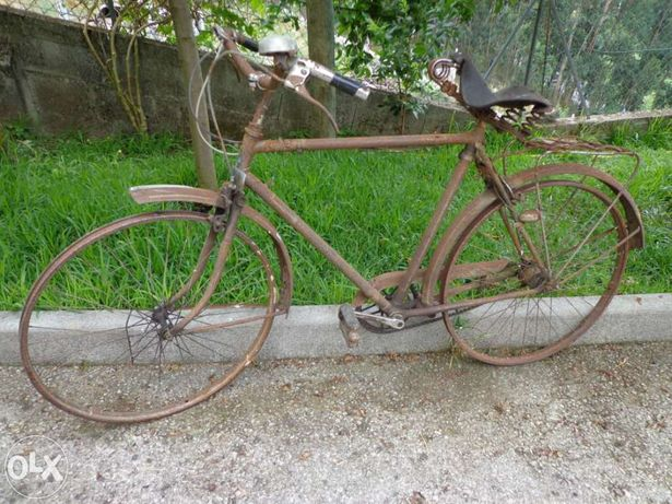"Bicicleta antiga Inglesa ""colossal"""