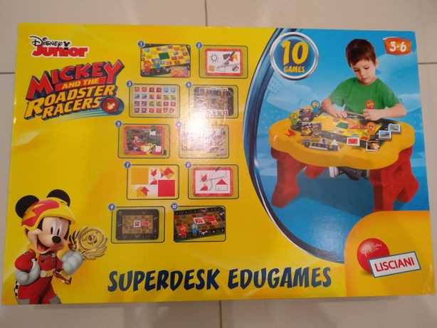 Lisciani Disney junior mickey superdesk edugames