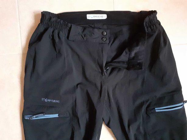 STROMBERG Spodnie damskie softshellowe trekkingowe pas 90 100 _ XL  42