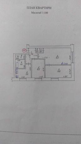 Квартира 3-шка, В. Багачка, пров. Шкiльний 4.