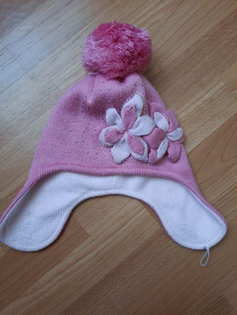 Зимняя шапка на флисе Nicola