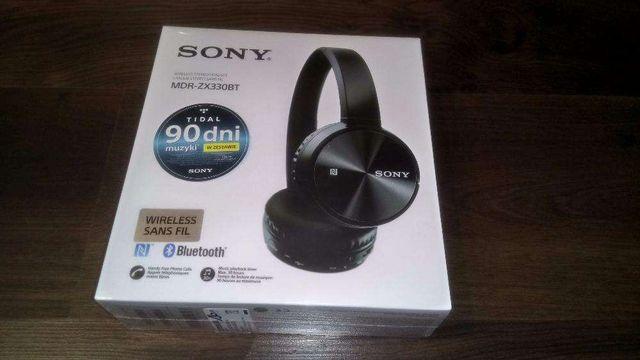 Słuchawki Bezprzewodowe SONY MDR-ZX330BT Bluetooth 90dni muzyki grati