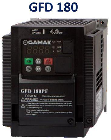 Falownik 3-fazowy GAMAK 1,5 2,2 3 kW 4 5,5 7,5 kW 11 15 Hitachi WJ200