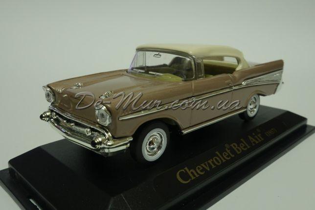 Масштабная коллекционная модель Chevrolet Bel Air 1957 1:43