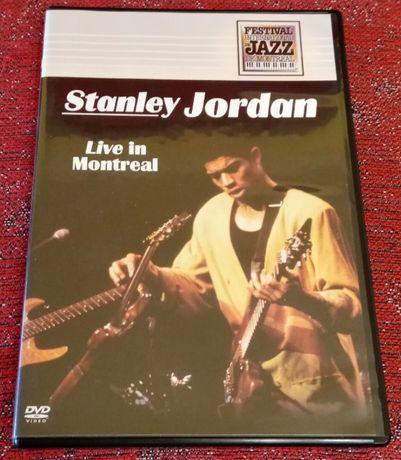 STANLEY JORDAN – Live in Montreal 1990 [DVD coleccionável, muito raro)
