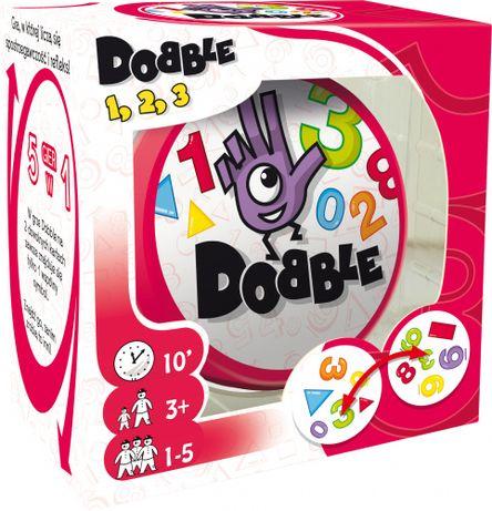 Dobble 1 2 3 nowa gra dla dzieci