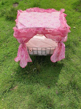 Дитяча кроватка для ляльок(ЦІНИ НИЖЧЕ НЕ БУДЕ)