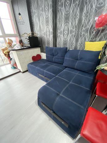 Угловой диван, раскладной