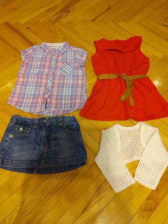 Ubranka dla dziewczynki rozm. 98, 2-3 latka